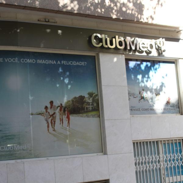 Neolux decoração de montras - Club Med