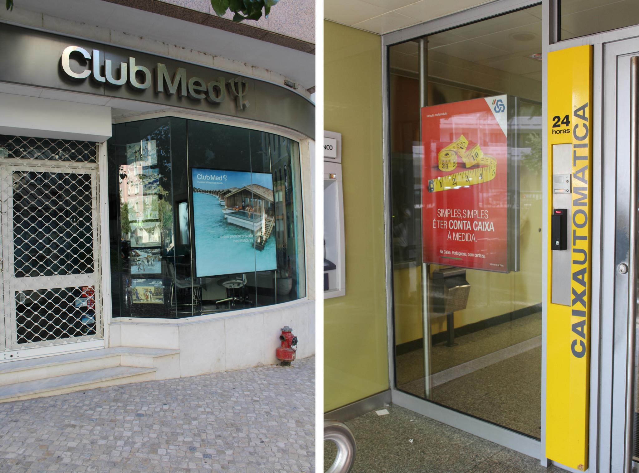 Caixas de luz Neolux -Club Med e CGD