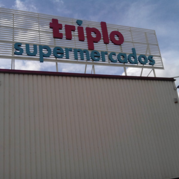 Outdoors Neolux - Triplo supermercados
